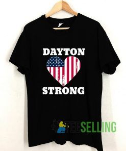 Dayton Strong T shirt Adult Unisex Size S-3XL