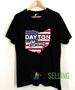 Dayton Strong American Flag T shirt Adult Unisex Size S-3XL