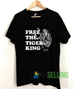 Free The Tiger King T shirt Adult Unisex Size S-3XL