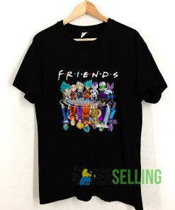 Friends Dragon Ball Z T shirt Adult Unisex Size S-3XL