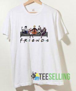 Friends Naruto T shirt Adult Unisex Size S-3XL