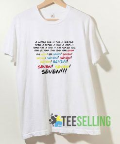 Friends Seven T shirt Adult Unisex Size S-3XL