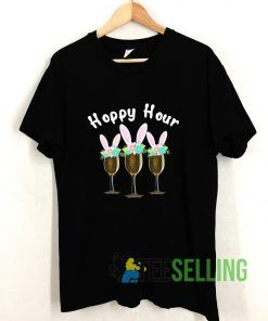 Happy Bunny Wine Drinking T shirt Adult Unisex Size S-3XL