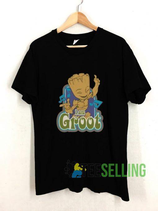 I Am Groot Dance T shirt Adult Unisex Size S-3XL