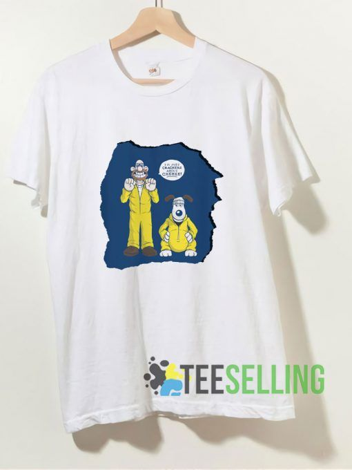 Wallace And Gromit Breaking Bad T shirt Adult Unisex Size S-3XL