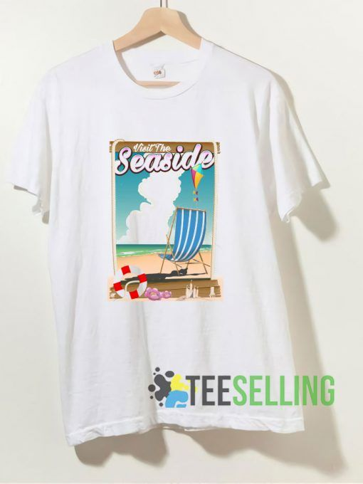 Visit the Seaside T shirt Adult Unisex Size S-3XL