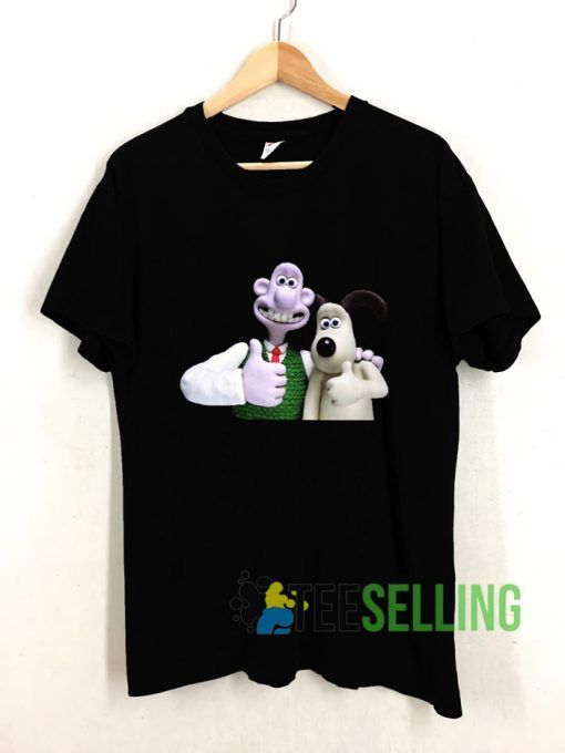 Wallace And Gromit T shirt Adult Unisex Size S-3XL