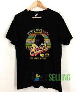 World Tour 1988 Randy Watson Vintage T shirt Adult Unisex Size S-3XL