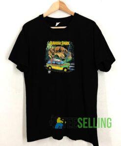 Jurassic Park Car Chase Scene Tshirt